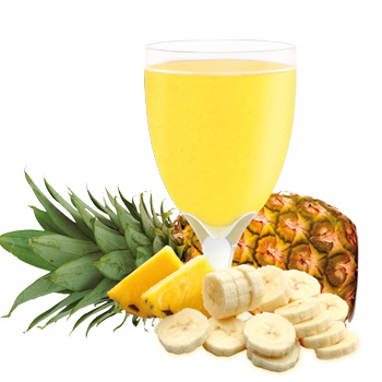 Pineapple and Banana Drink Mix